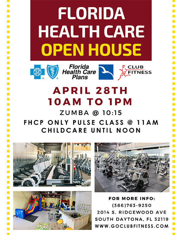 Florida Health Care Open House - Club Fitness